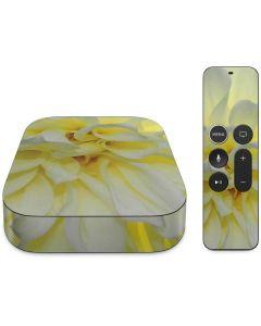 White Dahlia Apple TV Skin