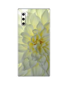 White Dahlia Galaxy Note 10 Skin