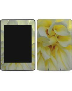 White Dahlia Amazon Kindle Skin
