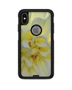 White Dahlia Otterbox Commuter iPhone Skin