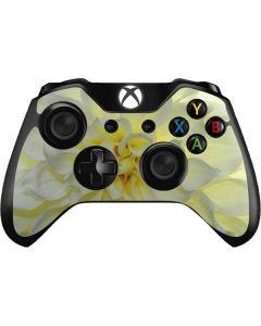 White Dahlia Xbox One Controller Skin