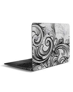 White Flourish Zenbook UX305FA 13.3in Skin