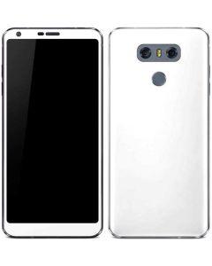 White LG G6 Skin