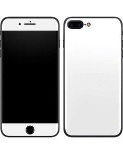 White iPhone 8 Plus Skin