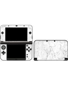 White Marble 3DS XL 2015 Skin