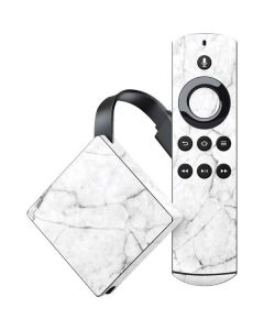 White Marble Amazon Fire TV Skin