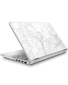 White Marble ENVY x360 15t-w200 Touch Convertible Laptop Skin