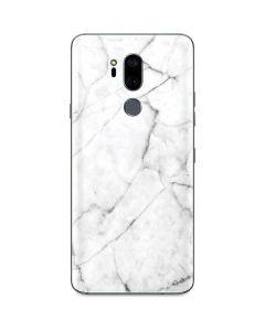 White Marble G7 ThinQ Skin