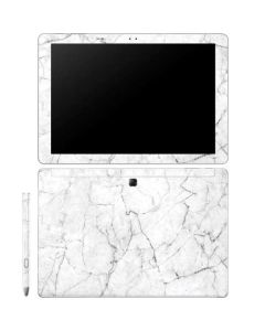 White Marble Galaxy Book 12in Skin