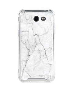 White Marble Galaxy J3 (2017) Clear Case