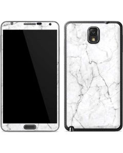 White Marble Galaxy Note 3 Skin