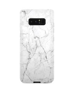 White Marble Galaxy Note 8 Lite Case