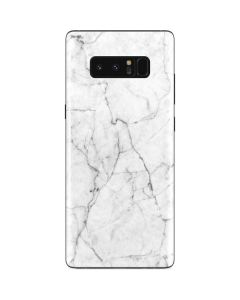 White Marble Galaxy Note 8 Skin