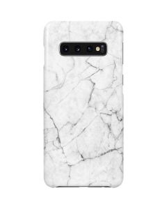 White Marble Galaxy S10 Plus Lite Case