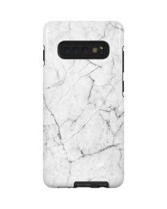 White Marble Galaxy S10 Plus Pro Case