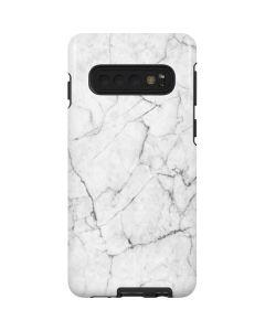 White Marble Galaxy S10 Pro Case
