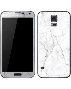 White Marble Galaxy S5 Skin