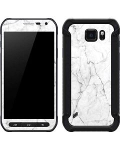 White Marble Galaxy S6 Active Skin