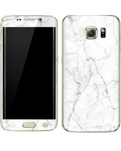 White Marble Galaxy S6 edge+ Skin