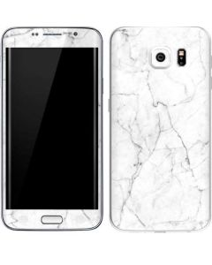 White Marble Galaxy S6 Edge Skin