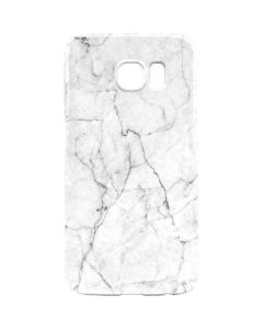 White Marble Galaxy S6 Lite Case