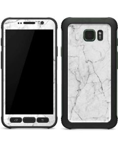 White Marble Galaxy S7 Active Skin