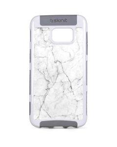 White Marble Galaxy S7 Edge Cargo Case