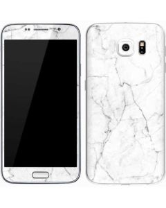 White Marble Galaxy S7 Skin