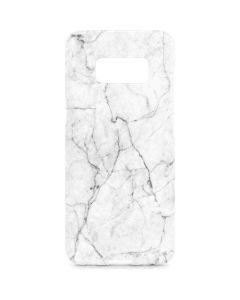 White Marble Galaxy S8 Plus Lite Case