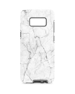 White Marble Galaxy S8 Pro Case