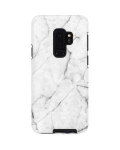 White Marble Galaxy S9 Plus Pro Case