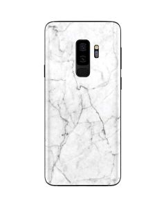 White Marble Galaxy S9 Plus Skin