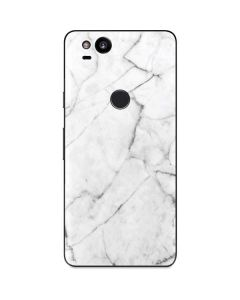 White Marble Google Pixel 2 Skin