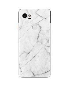 White Marble Google Pixel 2 XL Skin