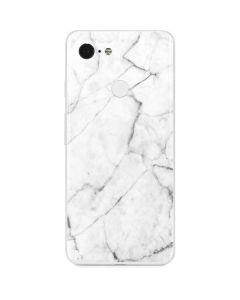 White Marble Google Pixel 3 Skin