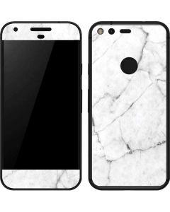 White Marble Google Pixel XL Skin