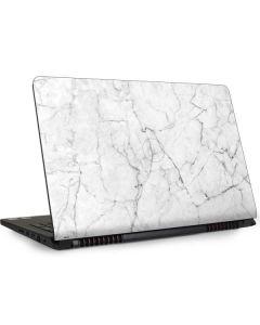 White Marble Dell Inspiron Skin