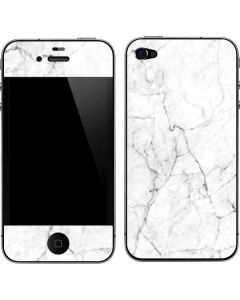White Marble iPhone 4&4s Skin