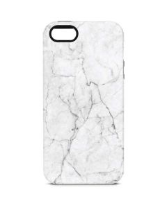 White Marble iPhone 5/5s/SE Pro Case