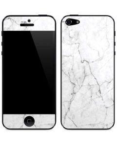 White Marble iPhone 5/5s/SE Skin