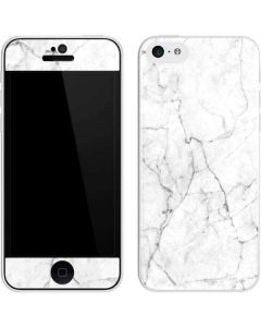White Marble iPhone 5c Skin