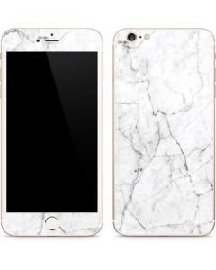 White Marble iPhone 6/6s Plus Skin
