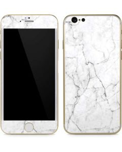 White Marble iPhone 6/6s Skin