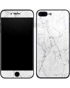 White Marble iPhone 7 Plus Skin