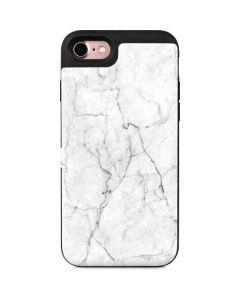 White Marble iPhone 7 Wallet Case