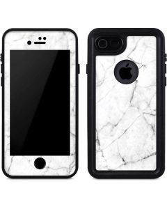 White Marble iPhone 7 Waterproof Case
