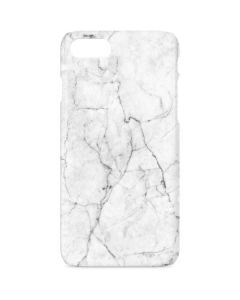 White Marble iPhone 8 Lite Case