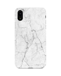 White Marble iPhone XR Lite Case