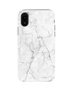 White Marble iPhone XR Pro Case