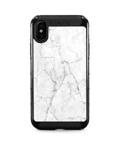 White Marble iPhone XS Cargo Case